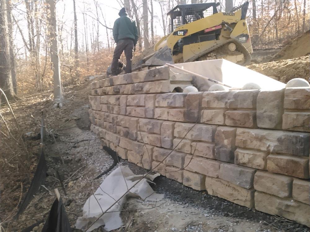 Retaining Seating Walls In Atlanta Buckhead Smyrna Ga